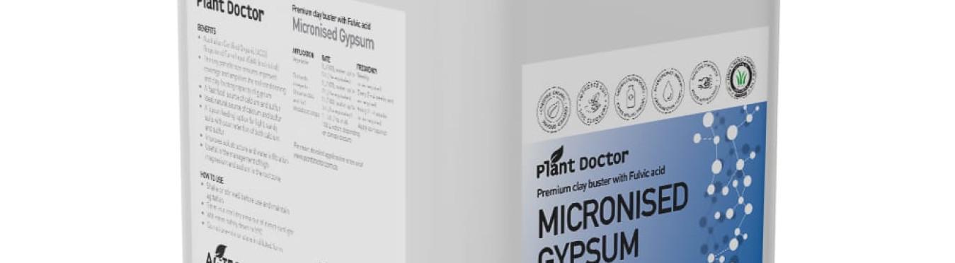 Micronised Gypsum Liquid -Certified Organic 20L